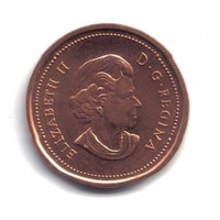 Canada 1 Cent Coin