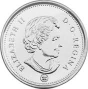 Canadian 5 Cent Coin