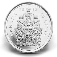 Canada 50 Cent Coin