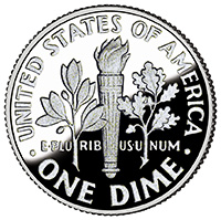 U.S. Dime Coin