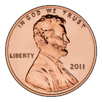 U.S. Penny Coin