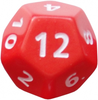 12 sided dice roller