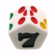 8 sided dice simulator with graphic